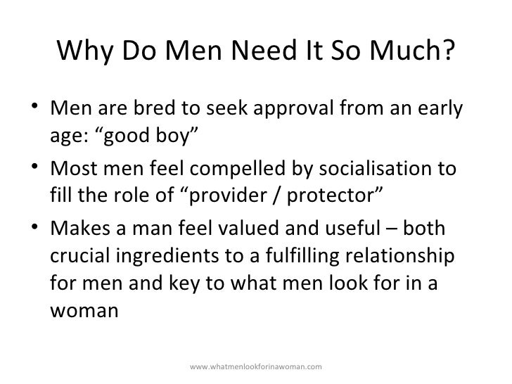 What to look for in a woman