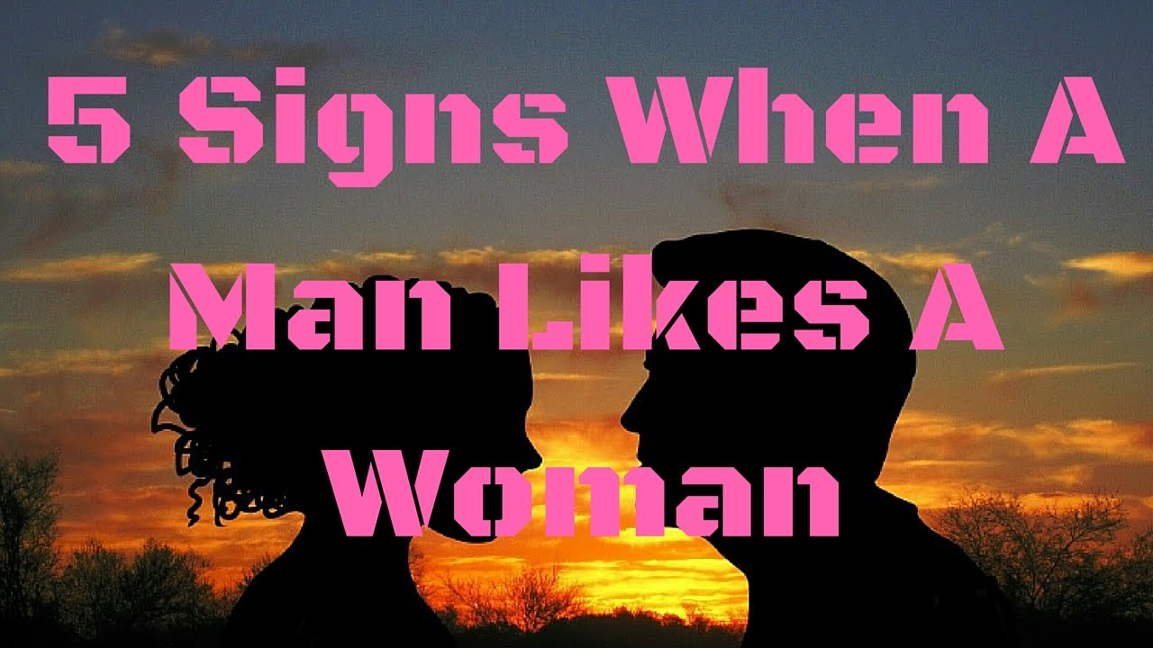 Signs a man is in love with a woman