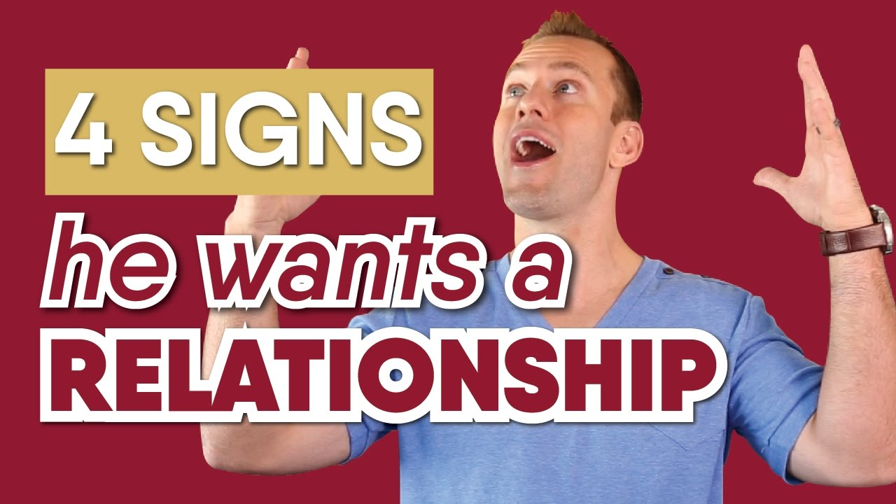 Signs he is ready for a relationship