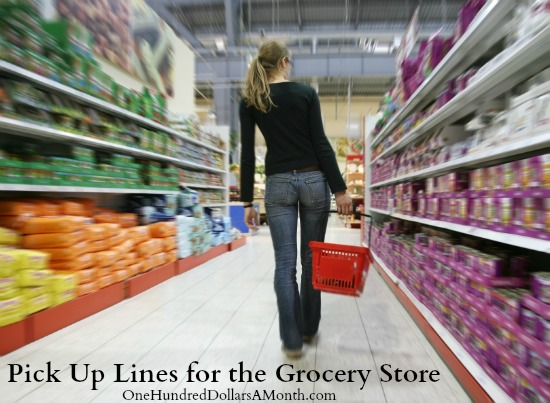 Grocery pick up lines