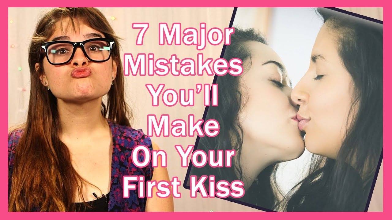 How to do a first kiss