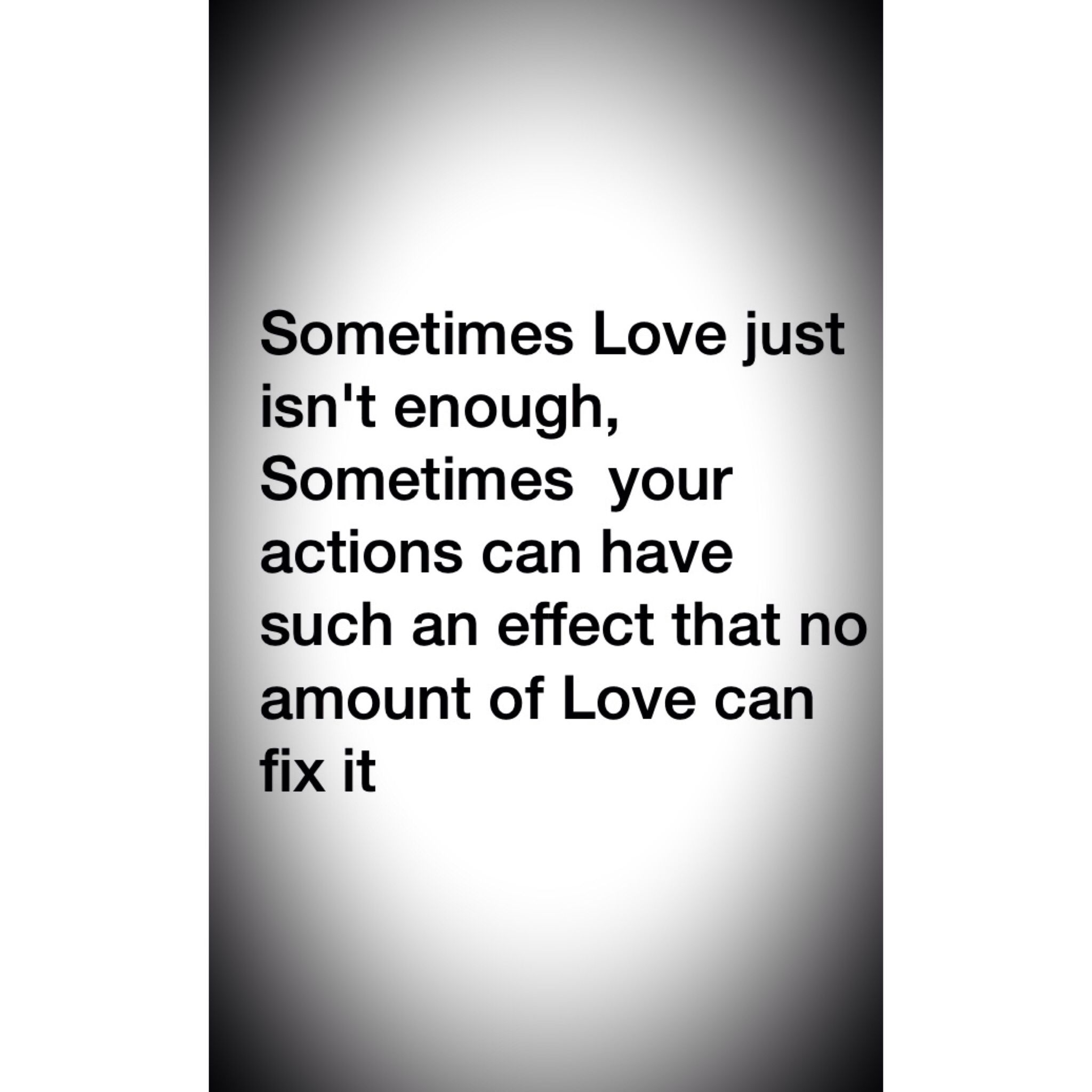 When love isnt enough