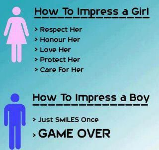 Love between a girl and a boy
