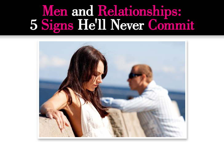 Signs of committed relationship