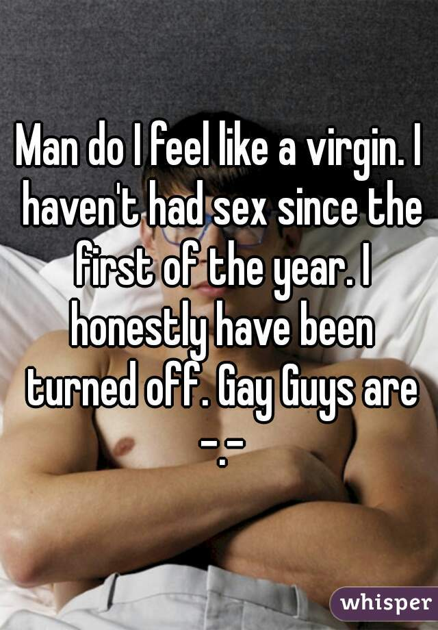 What does sex feel like to a guy