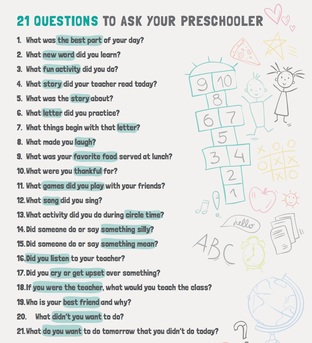Questions questions to ask boy 21 for a 21 Questions