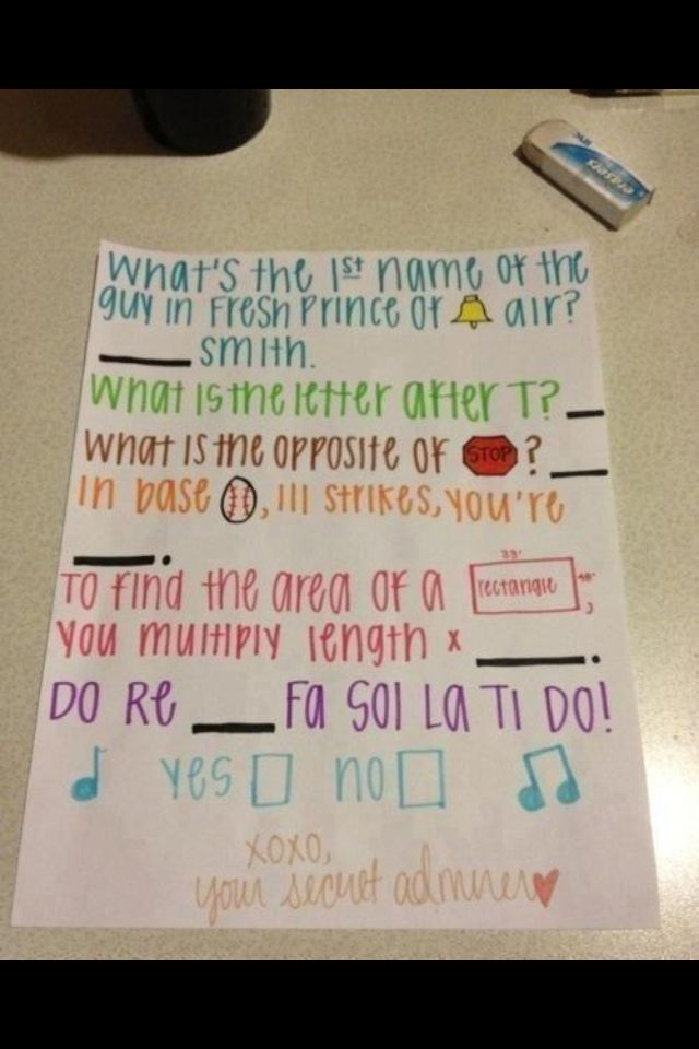 Sweet ways to ask a girl to be your girlfriend