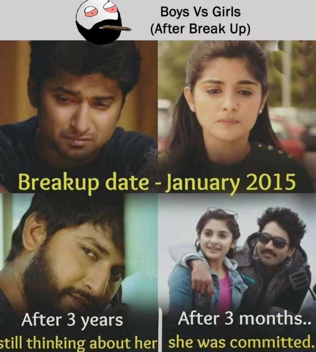 Taking a break vs breaking up
