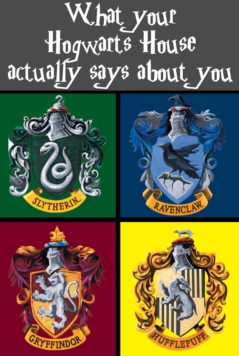 Harry potter what house am i