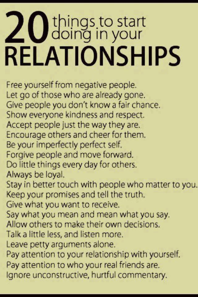 How to better yourself in a relationship