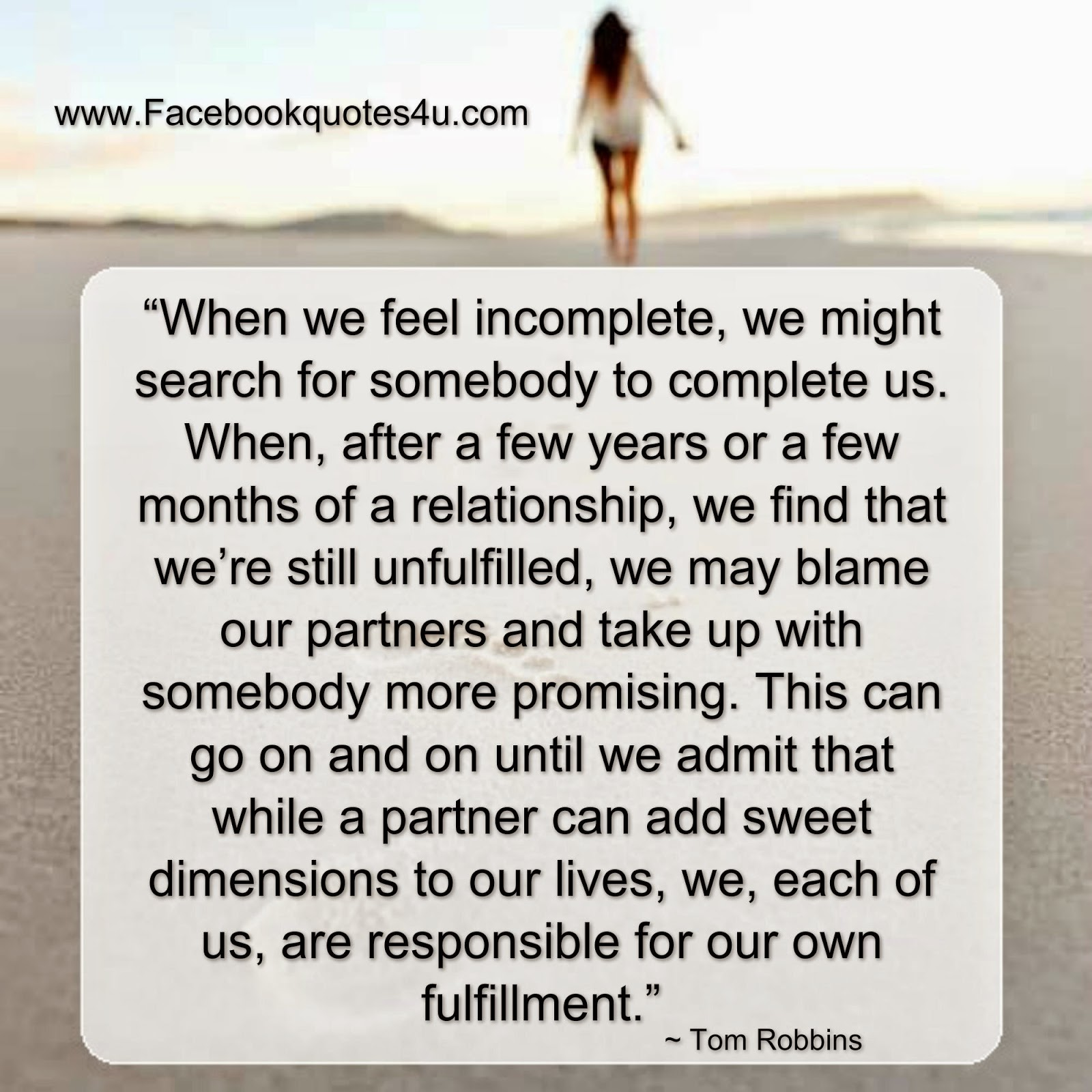 I feel unfulfilled in my relationship