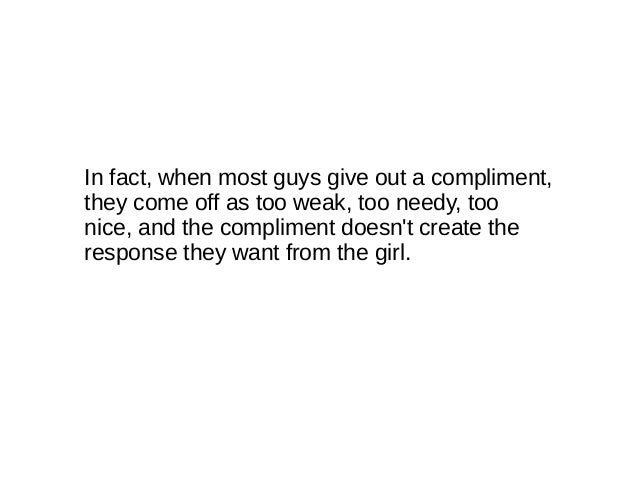 Funny compliments for guys