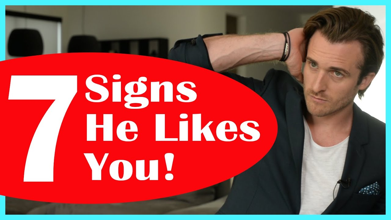 Signs a guy likes you but is intimidated