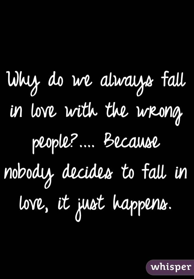 Why people fall in love