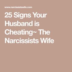 Do all narcissists cheat on their wives