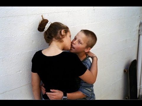 Girls kissing first time