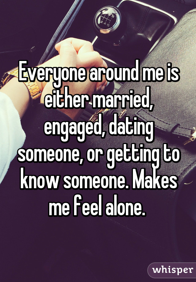 Dating someone who is married
