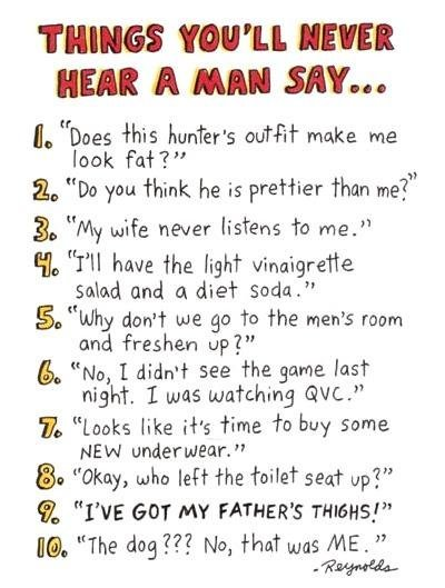 Things to look for in a man