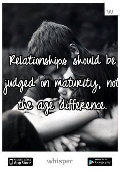How age differences affect relationships