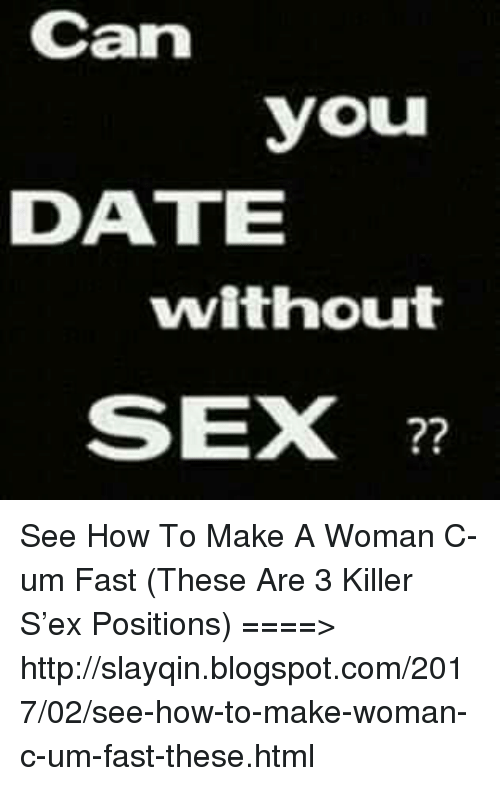 How to date without sex