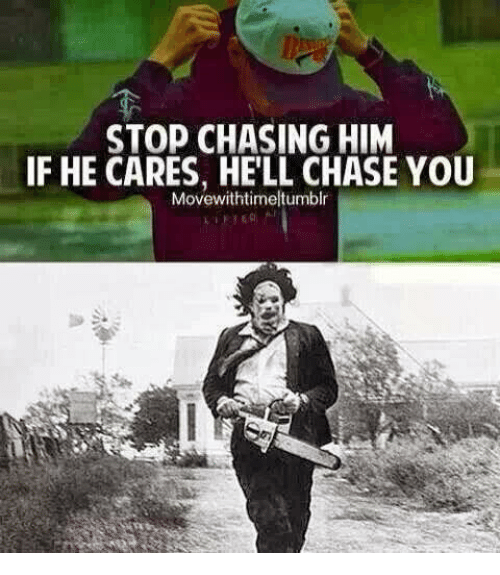 How to keep a guy chasing you
