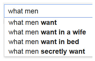 What guys want in bed