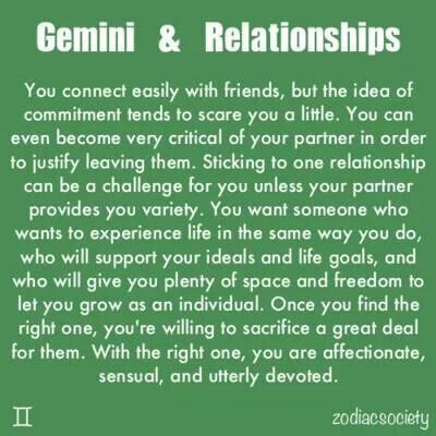 2 geminis in a relationship