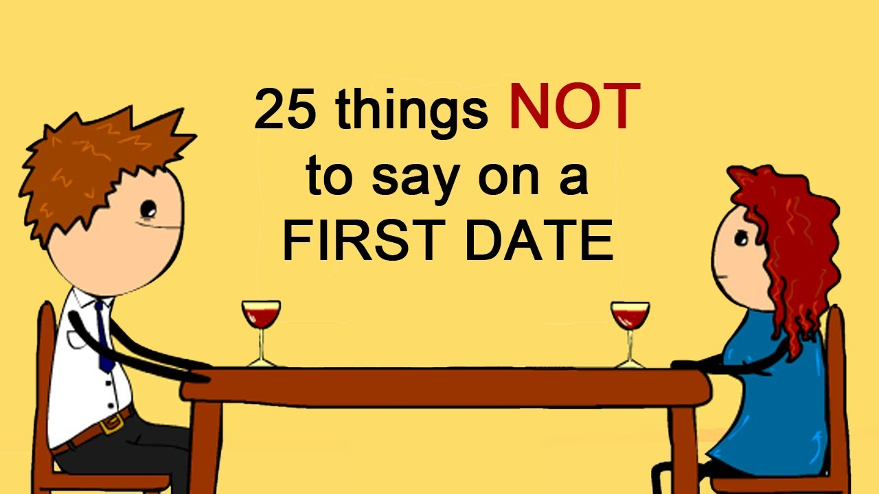 Things to say on first date