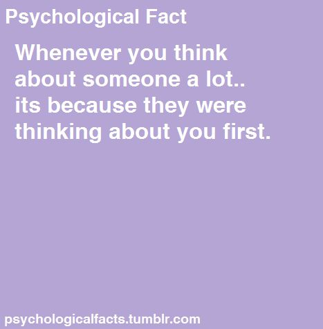 Signs someone is thinking of you