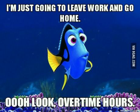 I work too much