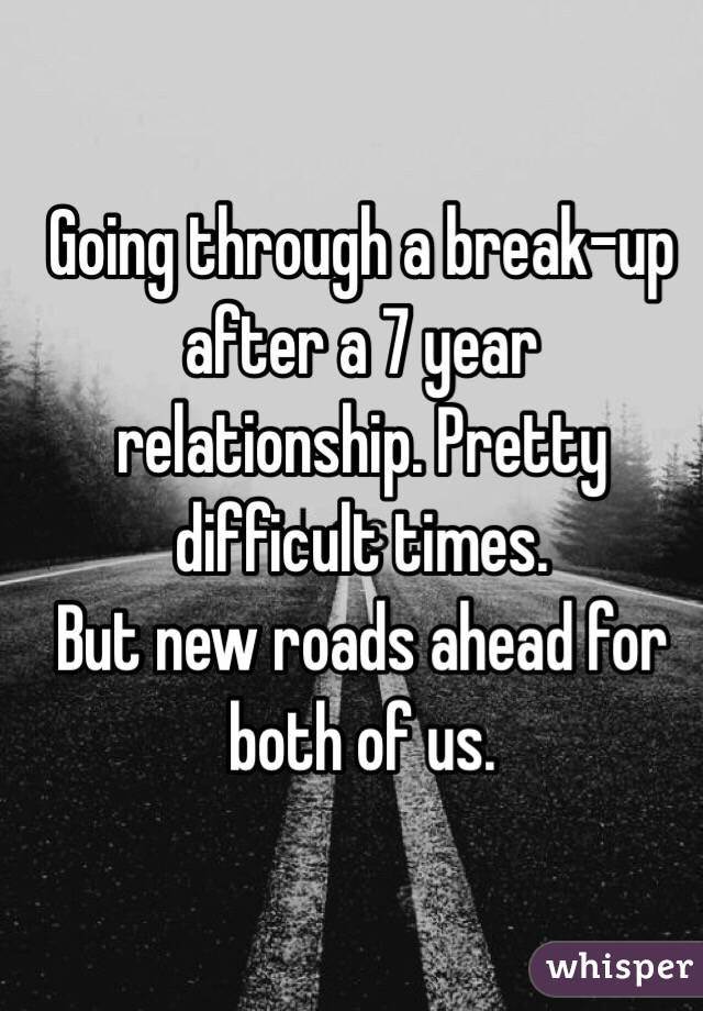 Break up after 3 years relationship