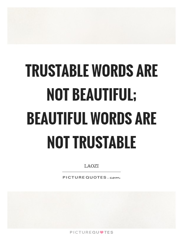 Is trustable a word