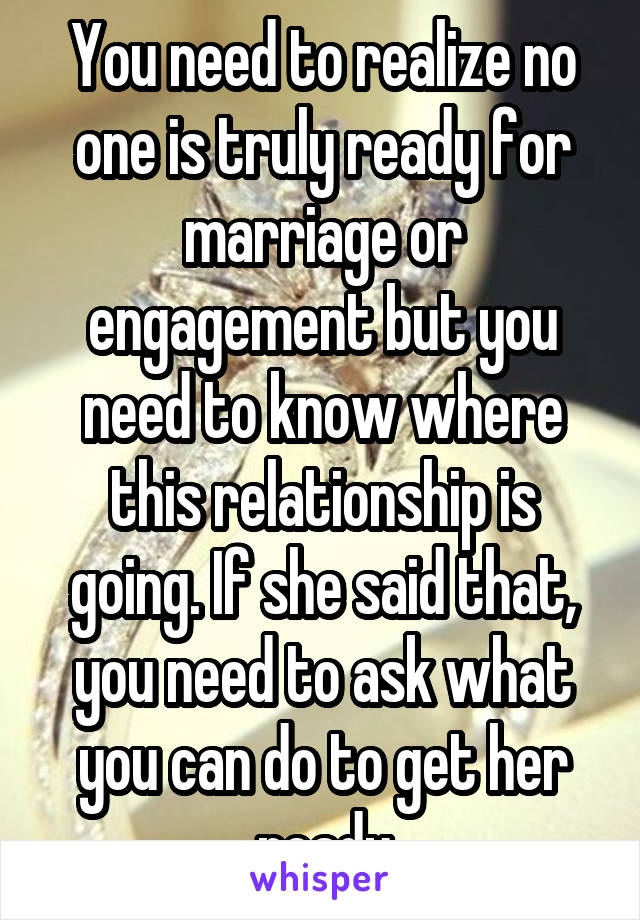 How to know if you are ready for marriage