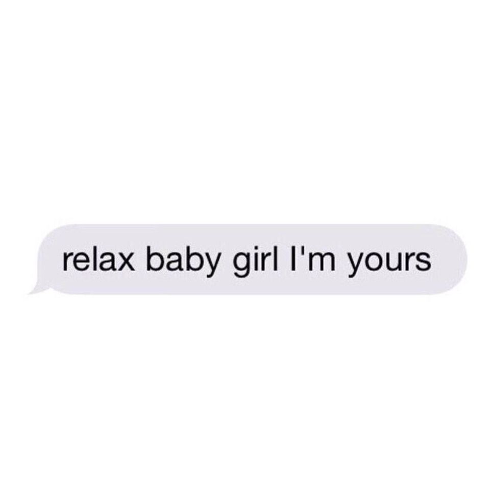 What every girl wants to hear