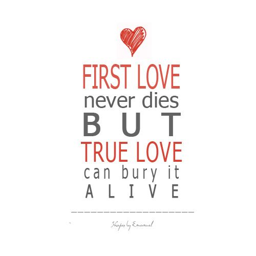 First love relationship advice