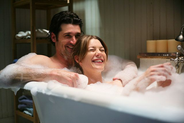 Derek shepherd and meredith grey