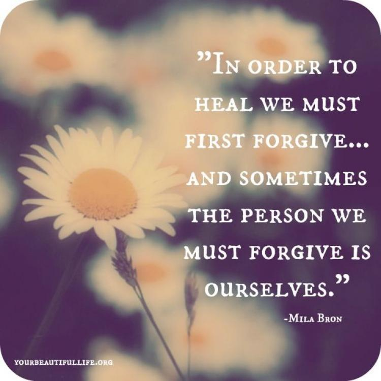 How to forgive yourself after cheating