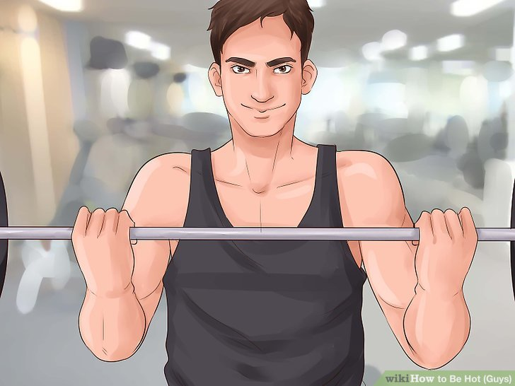 Become a hot guy