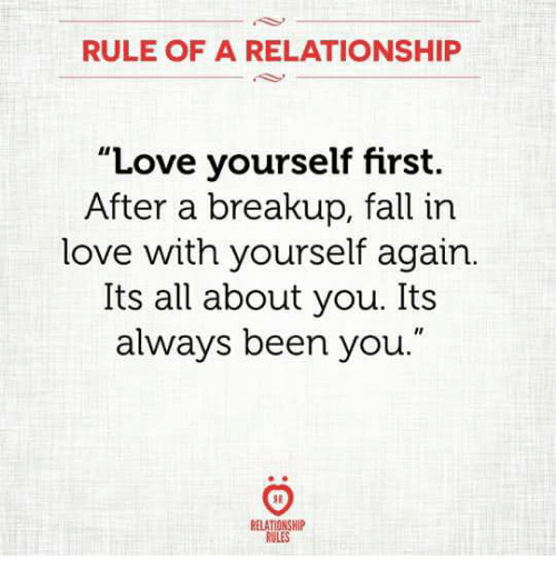 First relationship after break up