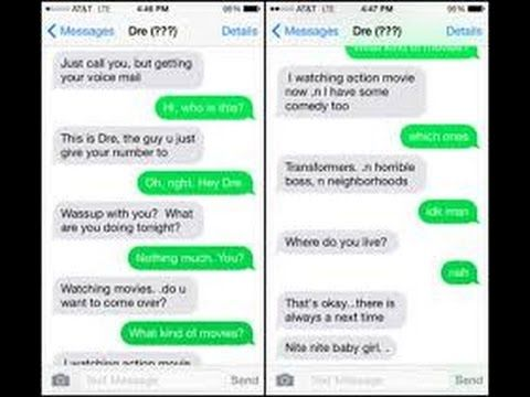 How to flirt over text with a guy examples