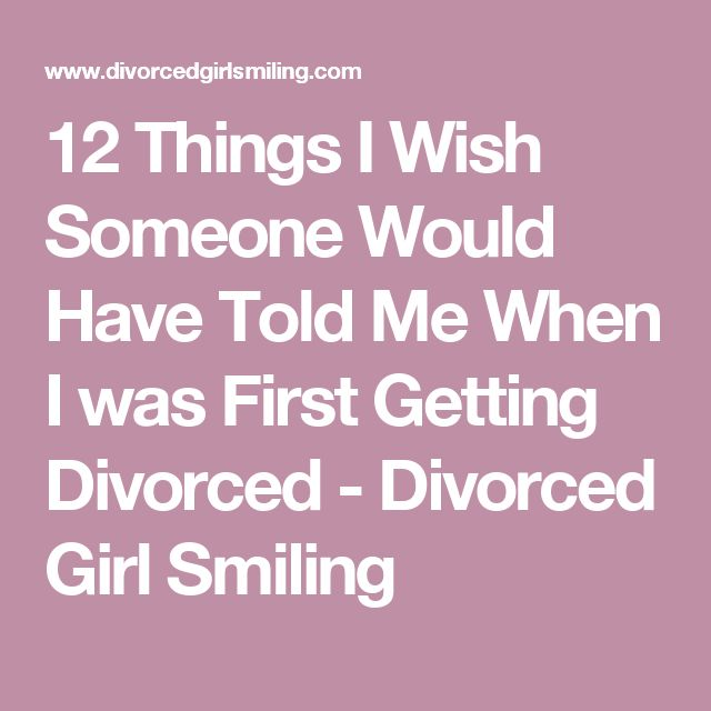 What to say to someone getting a divorce