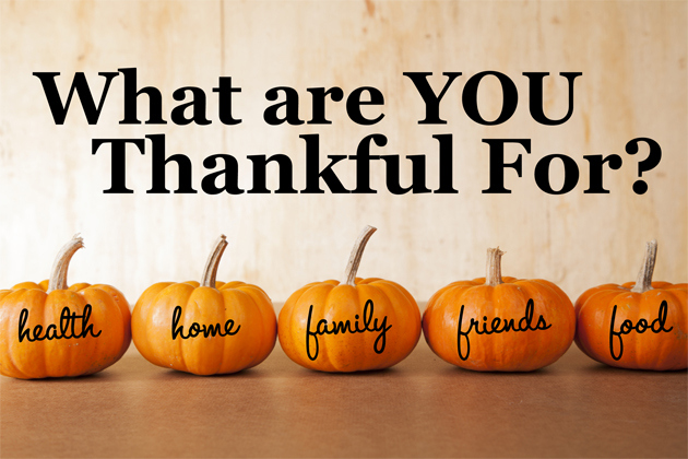 Things that we are thankful for