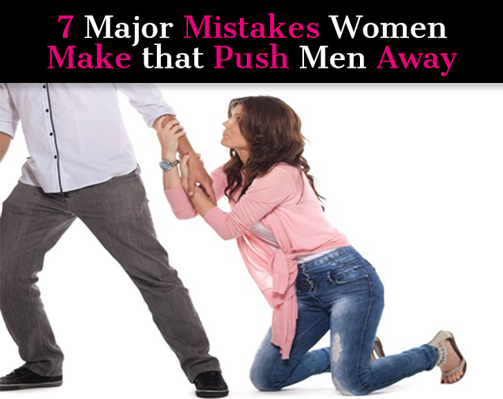 Why men push away