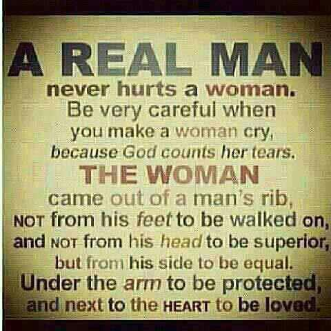When a man loves a woman signs