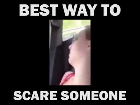Ways to scare someone