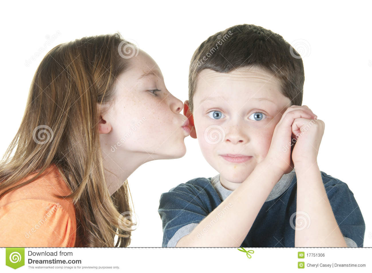 How to kiss a girl on cheek