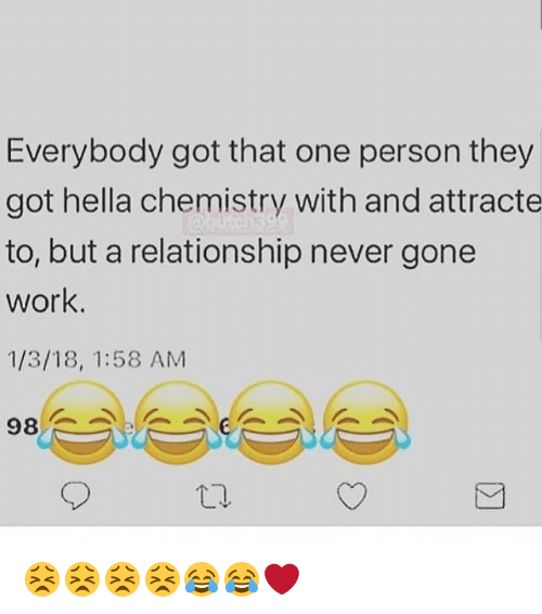 Can a relationship work without chemistry