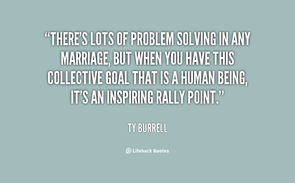 How to solve problems in married life