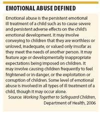 Dealing with psychological abuse