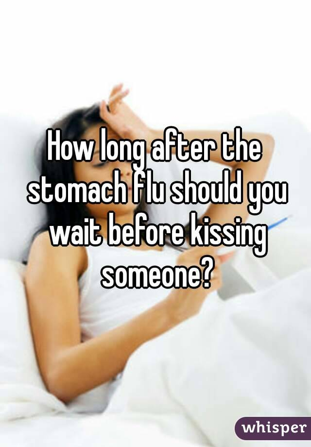How long should you wait to kiss